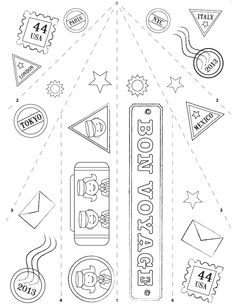 Free Paper Airplane Designs-Printable Templates. Paper
