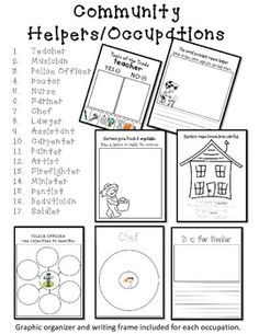 1000+ images about community helpers lesson on Pinterest