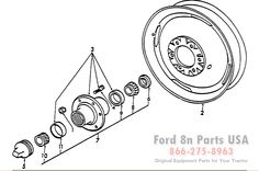 Ford 8N 11H01 Parts with Diagrams ford8npartsusa.com/ford