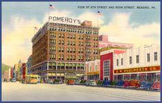 Pomeroy Department Store Harrisburg Pa Pomeroys