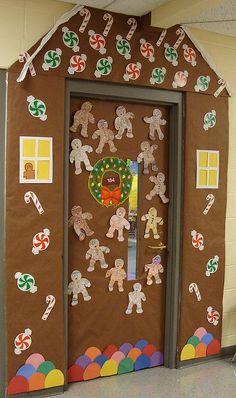 Christmas Door Decorations On Pinterest Christmas Door