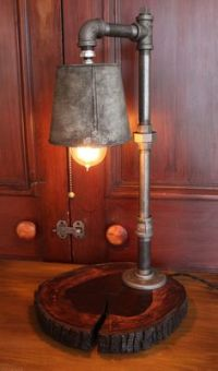 1000+ ideas about Pipe Lamp on Pinterest | Steampunk Lamp ...