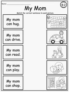Mother's Day Fill-in-the-Blank Freebie (also includes