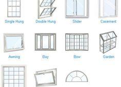 types of house windows styles