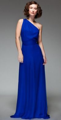 COBALT BLUE BRIDESMAID DRESSES - Yuman Dakren