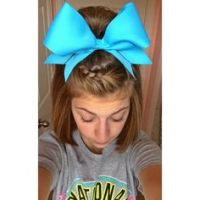 1000+ ideas about Braided Cheer Hair on Pinterest | Cheer ...
