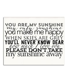 1000+ images about You Are My Sunshine on Pinterest