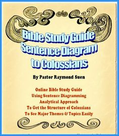 Holy Bible Analytical Reading Guide: Sentence Block