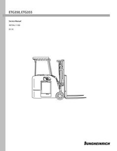 Jungheinrich Electric Forklift Truck EFG-DH Series: 12.5