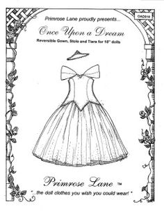 1000+ images about 18 inch doll patterns PrimRose Lane on