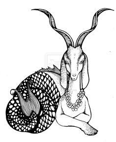 1000+ ideas about Capricorn Tattoo on Pinterest