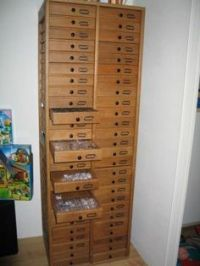 Bead Storage on Pinterest | Bead Storage, Beads and Cabinets