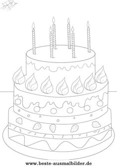 1000+ images about Happy Birthsday coloring on Pinterest