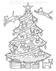 Adult Coloring Book: Magic Christmas : for Relaxation