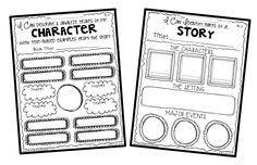 Cheeseburger Book Report Projects: templates, printable