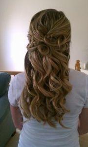 hoco prom hair