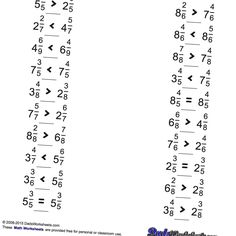 These Long Division Worksheets have answers with