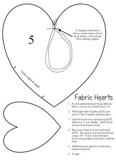 5 Free Heart Shaped Printable Templates for Your Craft