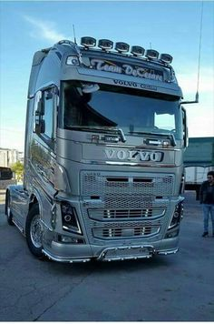 Volvo FH Truck Beautiful Long Cab Trucks Cabover