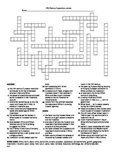 European Absolutism to Enlightenment Crossword Puzzle