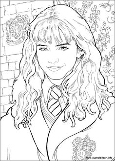 1000+ images about Harry Potter coloring pages on
