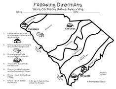 South Carolina Land Regions Bundle