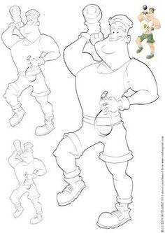 Barbeque Dude Digital Stamp on Craftsuprint designed by