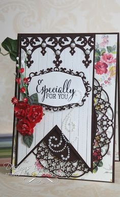 Christina Griffiths Cardvideos Spellbinder On Pinterest