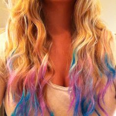 1000 images about hair chalking on pinterest hair chalk colorful hair and diy hair