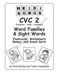 1000+ images about Kindergarten CVC Words on Pinterest