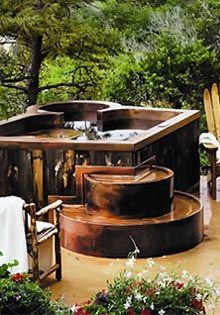 Maine Cedar Hot Tubs Handcrafted In Maine Yard Ideas