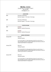 Resume Examples No Experience Resume Examples No