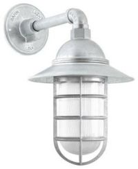 Atomic Industrial Guard Sconce, 975-Galvanized   CGG ...