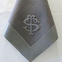 Monogrammed Napkins Monogram Napkin Personalized
