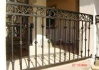 Details about Wrought Iron or Aluminum False Balcony ...