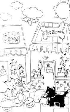 American Girl Doll Julie coloring page from American Girl