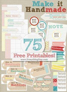75 Free Printable La