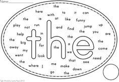 sight word worksheet: NEW 791 HIDDEN SIGHT WORD WORKSHEETS