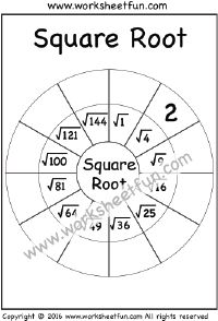 1000+ images about Squares & Square Roots on Pinterest