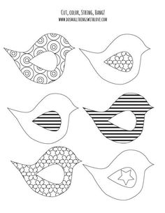 Dog Bone pattern. Use the printable outline for crafts