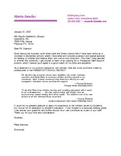 Outstanding Cover Letter Examples   cover letter