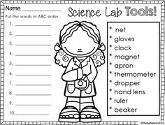 Tools Of Science Worksheet. Worksheets. Kristawiltbank