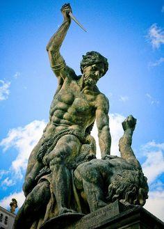 Statuary at Prague C