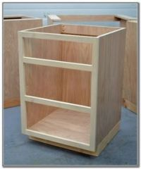 How To Build A Kitchen Island Using Stock Cabinets ...