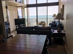 The Palms 1701 This 4 Bedroom Bath Oceanfront Condo Sleeps Around 10 Myrtle Beach