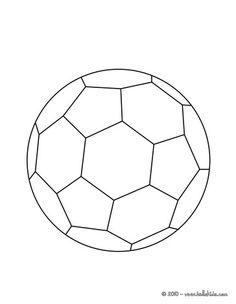 Soccer ball, Soccer and Coloring pages on Pinterest