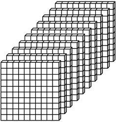Place Value Block Worksheets Thousands: Value & Place