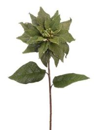 Burlap Poinsettias and Sleigh Holiday 2013 Faux Wreath ...
