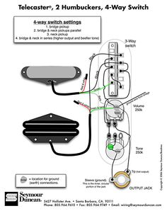 Seymour Duncan Wiring Diagram See also: http://www