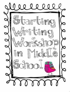 1000+ images about Middle School Writers' Workshop on